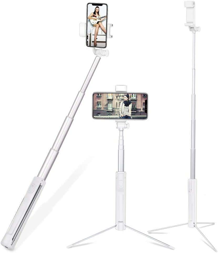 // 3//2// // 1 MOYOFEE HSbF AYDC YKD-113 3 en 1 Selfie Stick Monopod Set de tr/épied Bobber Flottant for GoPro New Hero // Hero7 // 6//5 // 5 Session // 4 S/éance // 4//3 Xiaoyi et Autres cam/éras daction