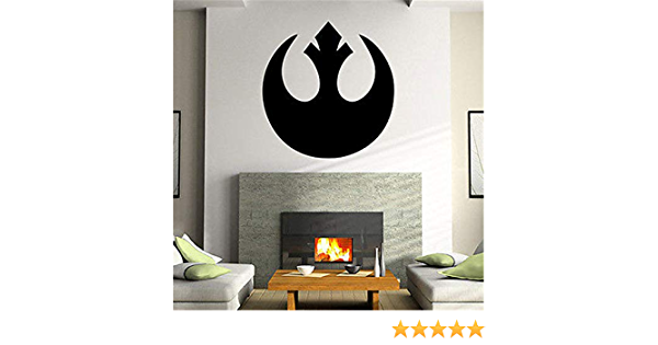 10 inch Princess Leia Organa Decal Rebel Alliance Star Wars Episode 4 Removable Wall Sticker Art Home Decor Kids Boys Room 4 by 9 12inch