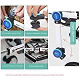 ZXPAG Adjustable Dog Pet Wheelchair, Wheelchair for Back Legs Lightweight, The New Updated pet Wheelchair for Back Leg Rehabilitaion Dog Cart Wheels