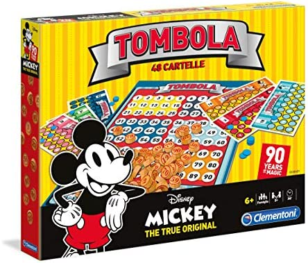 Juegos de Mesa – Mickey Ratón Bingo 90s, 16556: Amazon.es ...