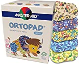 Ortopad Bamboo for Boys, Adhesive Eye Patches, Softer Material, (50 per Box) (Regular Size)