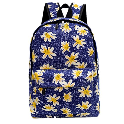 Clode® mujer tela patrón de de mochila mochila Bolso hombro flor aFIrwfaqx