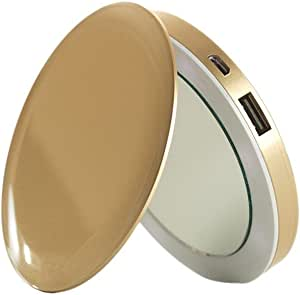 Amazon Com Hyper Pearl Compact Mirror Usb Rechargeable