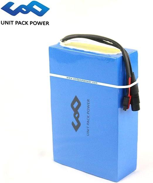 uppcycle Batería de Litio de 24V 10AH E-Bike + 25.2V 2A Cargador ...