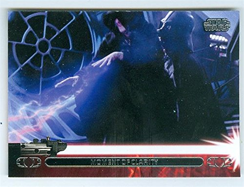 Darth Vader kills Emperor Sidious trading card Star for sale  Delivered anywhere in USA
