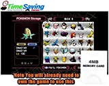 Pokemon XD - Gale of Darkness 100% Complete UNLOCKED Memory Card