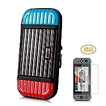 Nintendo Switch ニンテンドースイッチ ケース Aokeou 収納バッグ 大容量 ニンテンドー スイッチ専用バッグ 20枚カード収納 防塵 耐衝撃 全面保護