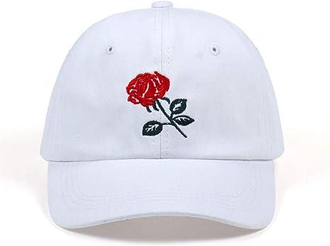 SADUZI Gorra De Beisbol Moda Rosas Hombres Mujeres Gorras De ...