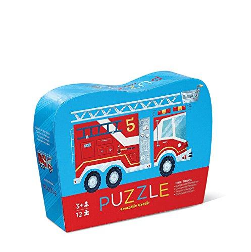 (Crocodile Creek Fire Truck Jigsaw Puzzle (12 Piece))