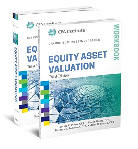 Equity Asset Valuation, 3e Book and Workbook Set (CFA Institute Investment Series)