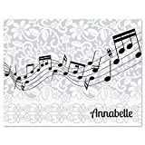 Chorus Line Music Personalized Note Card Set - 24 cards with envelopes