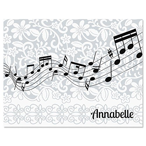 (Chorus Line Music Personalized Note Card Set - 24 cards with envelopes)