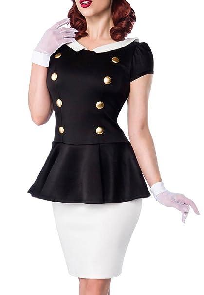 Vestido negro basico xxl
