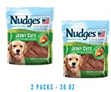 Nudges Jerky Cuts Dog Treats, Chicken Health & Wellness (2 packs - 36-oz)