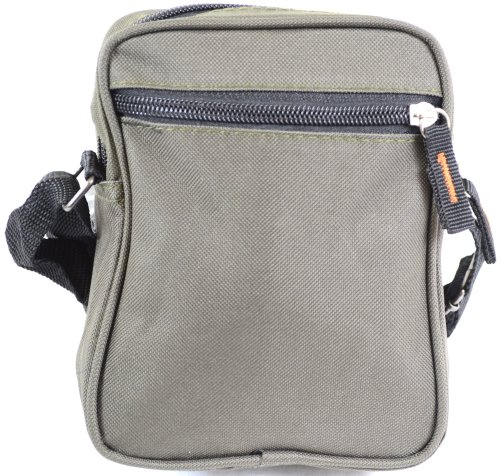 Práctica bolsa de hombro estilo de lona/ Bolsa cruzada. verde oliva