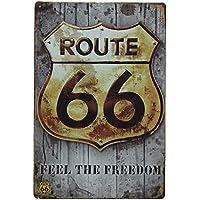 MARQUISE & LOREAN Ruta 66 Decoración Pared  