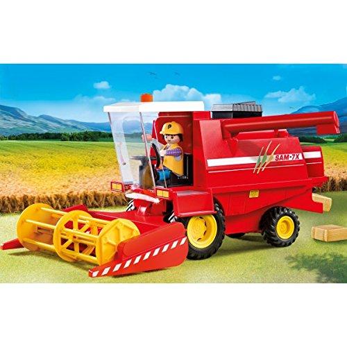 Playmobil 3929 Moissonneuse-batteuse avec Agriculteur