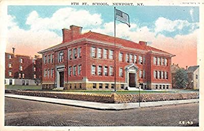 9th St. School, Newport, Kentucky Antique Postcard T2466