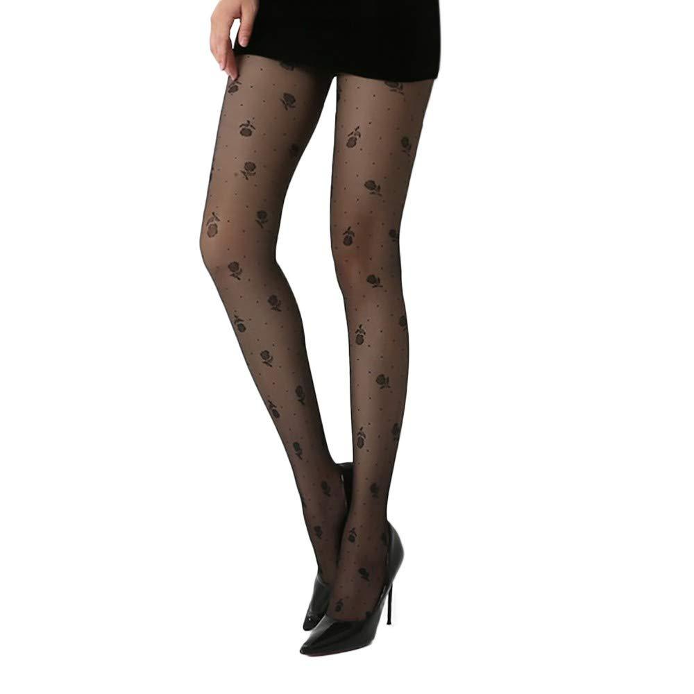 0a5e4843db0 Amazon.com: NEWONESUN Pantyhose Winter Women's Sexy Print Lingerie ...