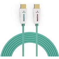 RUIPRO 8K HDMI kabel światłowodowy 30 m HDMI 2.1 48 Gbps 8 K@60 Hz 4 K@120 Hz Dynamiczny HDR/eARC/HDCP 2.2 / 3D Slim…