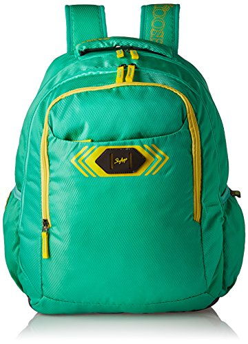 Skybags Polyester 32 Ltrs Green Casual Backpack (BPVIBFS2TEL)