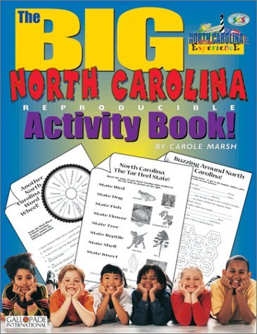 Download North Carolina's Big Activity Book (The North Carolina Experience) by Marsh Carole (2000-09-01) Hardcover pdf