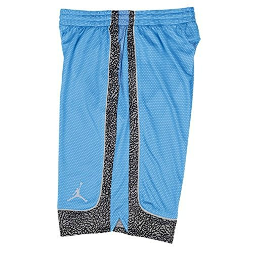 Jordan Boys' Varsity Basketball Shorts, Size: Large, Universal Blue Jordan Embroidered Shorts