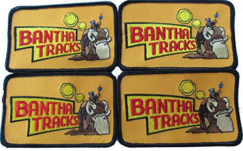 Bantha Tracks patch Star Wars fan club, package of 4 ()