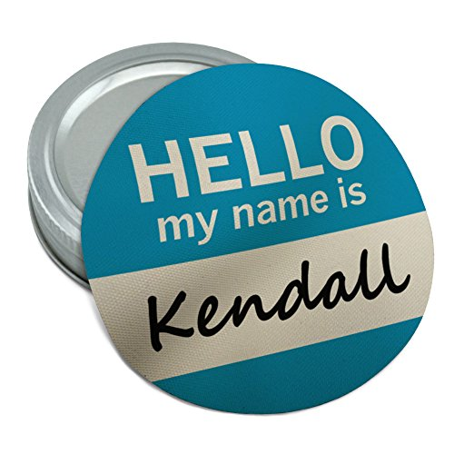 Kendall Hello My Name Is Round Rubber Non-Slip Jar Gripper Lid Opener - Kendall Slip
