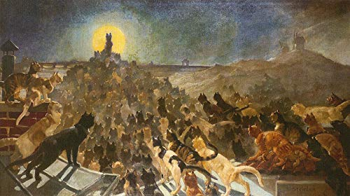 (Theophile-Alexandre Steinlen The Apotheosis of The Cats 1885 Musee du Petit Palais Geneva 30