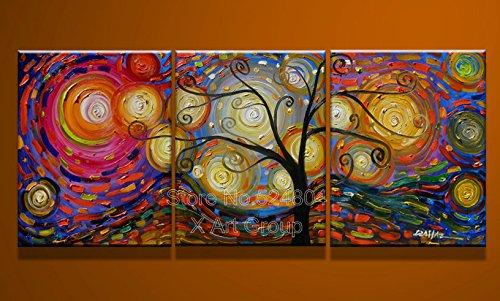 Amazon.de: Wunderschöne Picture Perfect Malen Nach Zahlen, Motiv U0027Bunter  Baum Ölbild Auf Leinwand Amazing Design