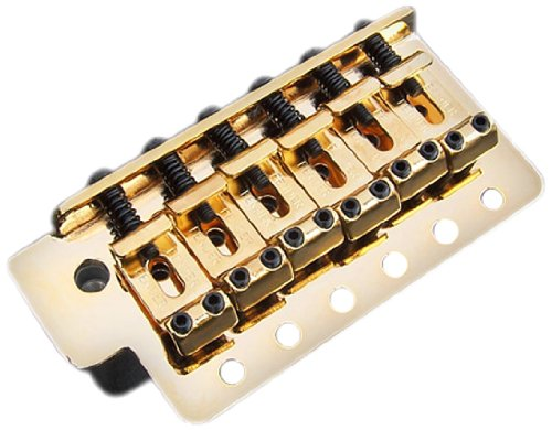 Tremolo Assembly - Fender Vintage-Style Standard Series Stratocaster Bridge - Gold
