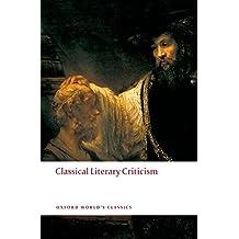 Classical Literary Criticism
