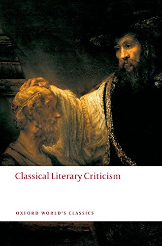 CLASSICAL LITERARY CRITICISM (9549818)