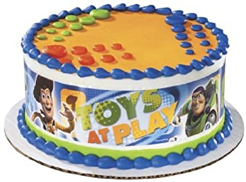 Toy Story Edible Cake Border Decoration By A Birthday Place