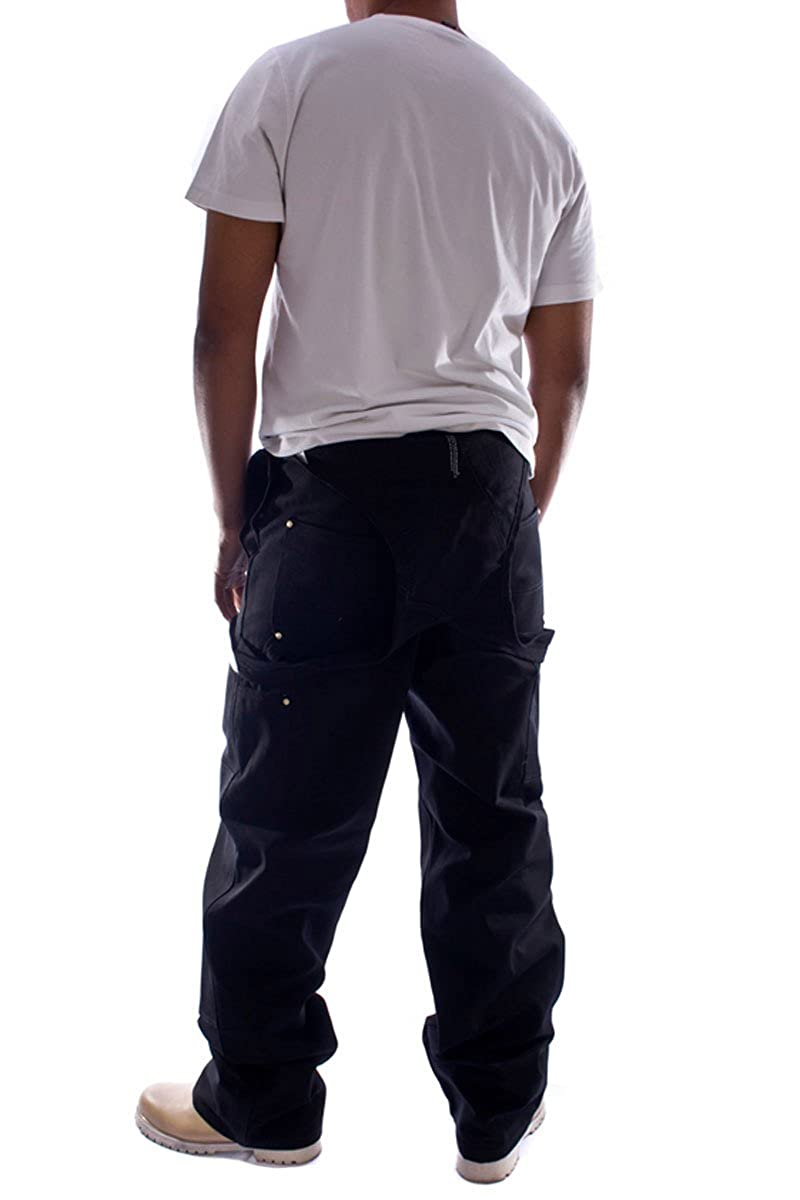 Carhartt Denim Dungarees Black bib Overall Mens Work Dungaree Mens Dungaree R01Black