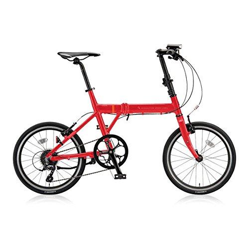 ブリヂストングリーンレーベル(BRIDGESTONE GREEN LABEL) 折りたたみ自転車 CYLVA(シルヴァ) F VF8F20 E.Xフレッシュレッド 20サイズ B076DY2R86