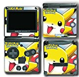 Pokemon Go Pikachu Pokeball Ash Video Game Vinyl Decal Skin Sticker Cover for Nintendo GBA SP Gameboy Advance System