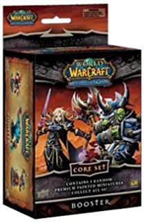 18 Cards World of Warcraft WoW Miniatures Mini Game Core Booster Epic Card Set