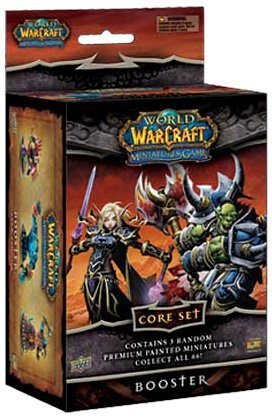 Upper Deck World of Warcraft Miniatures Core Set - Booster Box