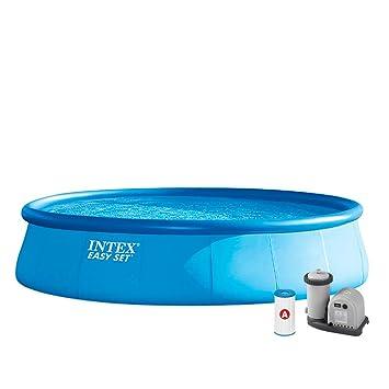 Amazon.com: Intex Easy Set hasta 18 ft X 48 en piscina con ...