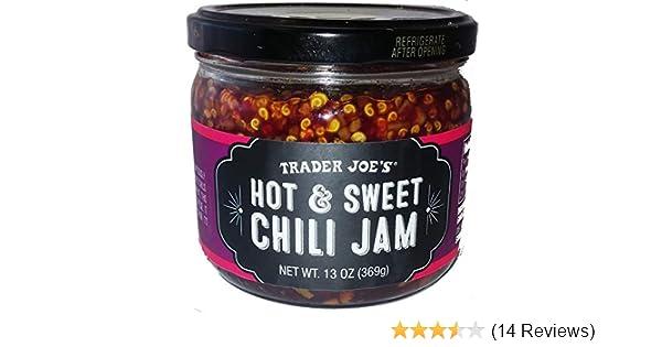 d6c53e8ff228 Trader Joe's Hot & Sweet Chili Jam, 13oz Jar