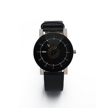 Uhr Herren Jungen Armbanduhr Schwarze Casual Analog Mit Amazon De