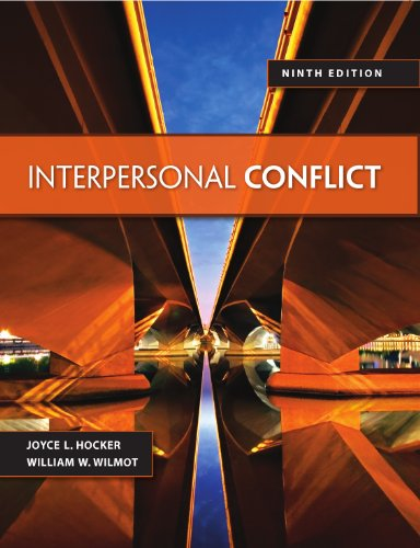 Interpersonal Conflict, 9th edition Pdf