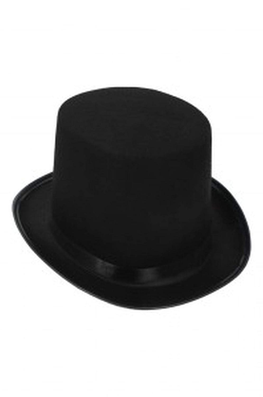 Hut Zylinder schwarz weiss rosa Hochzeit Party Spiel /®Auto-schmuck schwarz