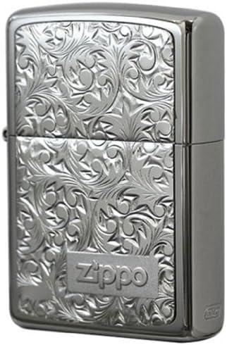 ZIPPO(ジッポー):刻印入り純銀プレート/銀チタン#KR-3