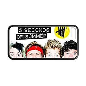 Funny 5sos 5 Seconds Of Summer Custom Case Cover for iPhone 5C TPU (Laser Technology)