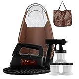 MaxiMist Lite Plus Spray Tan Machine Kit with Tent, Brown, 5 Pound