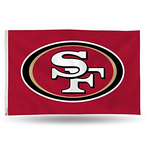 NFL San Francisco 49ers Banner Flag 3-Foot by 5-Foot ()