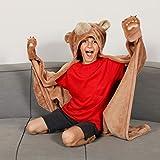 Kanguru Wearable Bear Hooded Blanket Gifts for Boy 5 6 7 8 9 10 Year Old- Fun Christmas and Birthday...